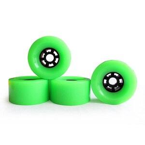 Image 5 - Roues de Skateboard électrique de 90mm, 1 pièce, roues en polyuréthane avec engrenage, roues de planche à roulettes Longboard, dureté SHR83A 90x52, rebond élevé