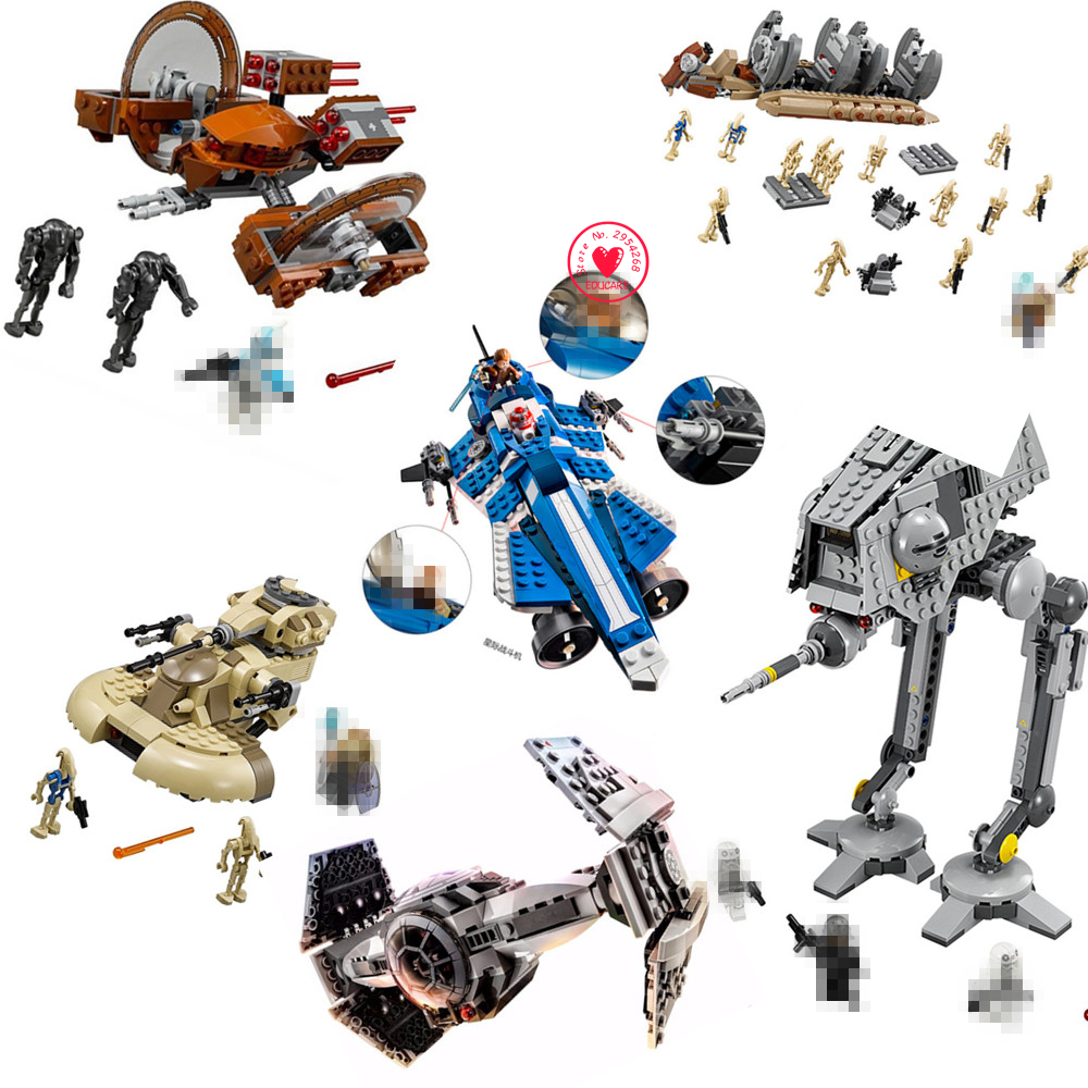NEW Star wars series Model Building Blocks kits bricks Toys compatiable Star wars series kid Gift set birthday boys education new lp2k series contactor lp2k06015 lp2k06015md lp2 k06015md 220v dc