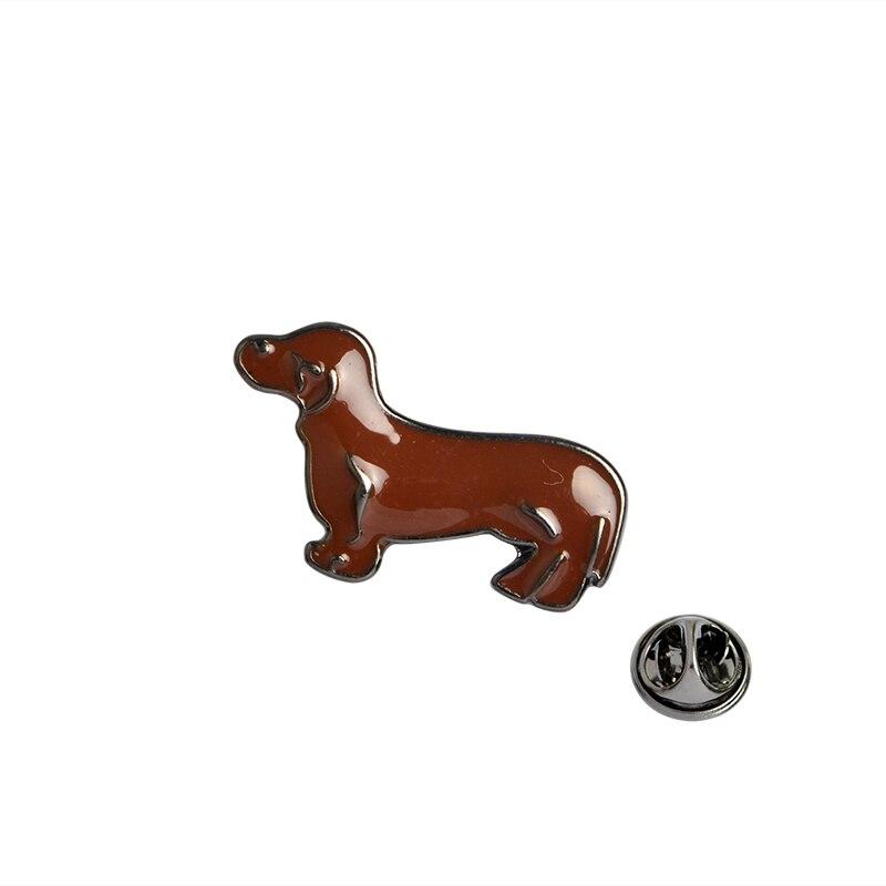 Dog German Shepherd Labrador SharPei Beagle Dachshund Brooch Collar Corsage Shirt bag cap Jacket Pin Badge Cartoon Jewelry