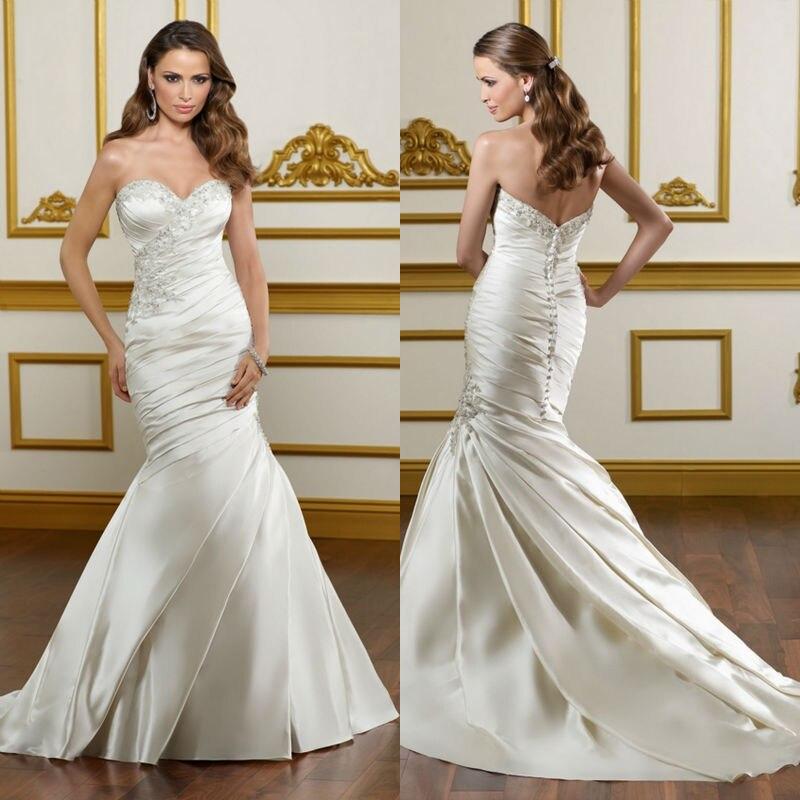 Gorgeous 2016 Appliqued Silk Taffeta Wedding Dresses A: 2012 New Style Asymmetric Gorgeous Bridal Dresses Satin