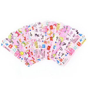 50PCs Cartoon Band Aid Hemostasis Adhesive Bandages Waterproof Breathable First Aid Emergency Kit For Kids Children Skin Care
