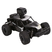 2.4G 4WD Wifi Real-time Transmission RC Car with 720p HD Camera Moible Phone Remote Control Dirt Bike Toys for Children
