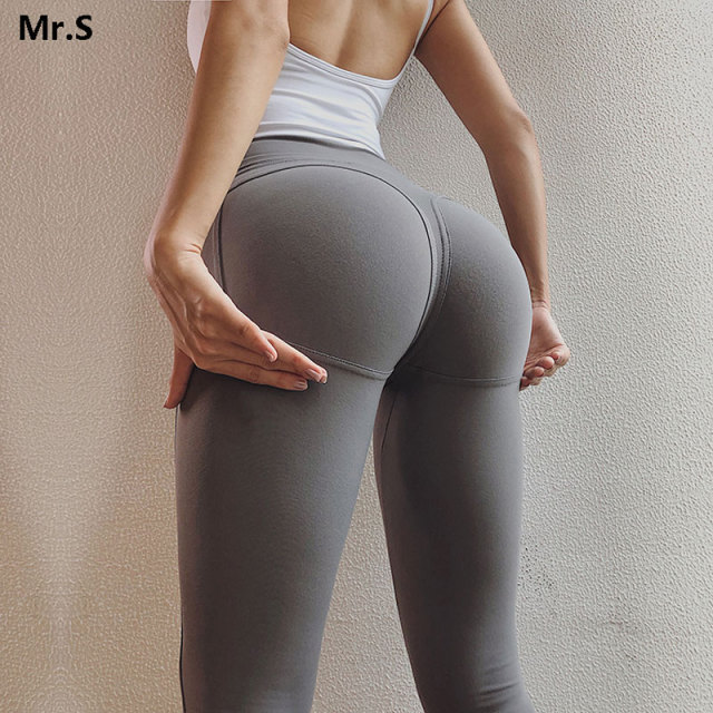 Sexy Big Booty Leggings For Women Sport Fitness High Rise Gym Tights Scrunch Butt Leggings Push