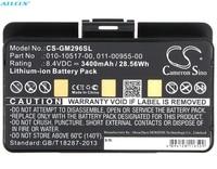 Cameron Sino 3400mAh Battery 011 00955 00 for Garmin EGM478, GPSMAP 276, 276c, 296, 376, 376C, 378, 396, 478, 495, 496,GPSMAP478