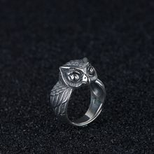 S925 silver restoring ancient ways process silver ring wholesale fashion patron owl ring opening male accessories wholesale and the hand of fatima restoring ancient ways ring hamsa ring ring