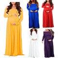 Одежда для беременных реквизит для фотосъемки платье для беременных с длинным рукавом для будущих мам Платье для фотосессии платье для бер...