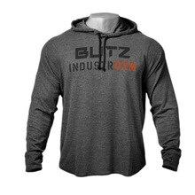 Streetwear Men's 2019 Brand Men's Black Hoodie Sweatshirt Men's Hoodie Long Sleeve Men's Hoodie Sweatshirt contrast checked sleeve hoodie sweatshirt