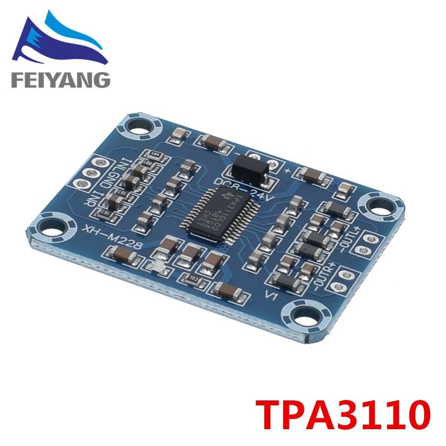1PCS TPA3110 2X15W Digital Audio Stere Amplifier Board Module Mini Binaural AMP Controller 100dB DC 8-18V Max 3A