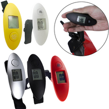 Cheap Digital Electronic Luggage Scale LCD Display Mini Pocket Travel Handheld Weighing Luggage Scale Weight Balance 100g/40kg poneca digital pocket scale 100g 200g 0 01g portable lcd electronic jewelry scale gold diamond balance weighing scale mini