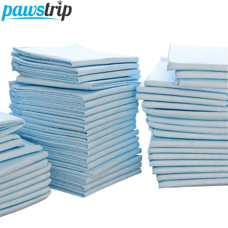 100 pçs/lote Super Absorvente Fralda Pet Dog Training Pee Pads Tapete Molhado Limpo E Saudável Para Cães Gatos 33*45 cm