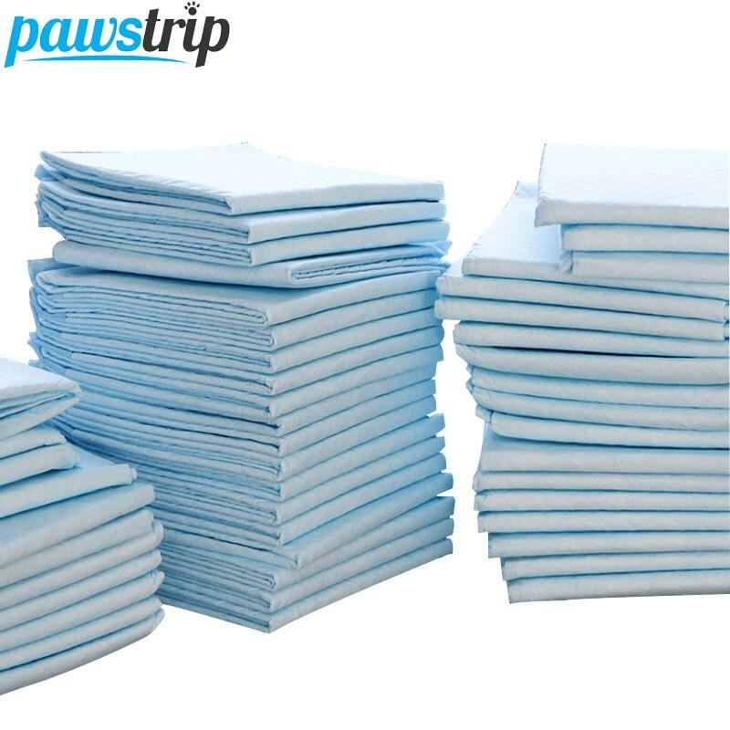 100 pz/lotto Super Assorbente Pet Pannolini Cane di Formazione Pipì Pastiglie Sano Pulito Bagnato Zerbino Per Il Cane Gatti 33*45 cm
