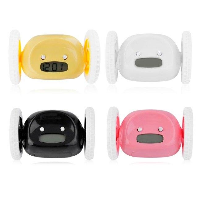 4 цвета Творческий Дизайн ЖК-дисплей Экран Дисплей работает будильник дома...