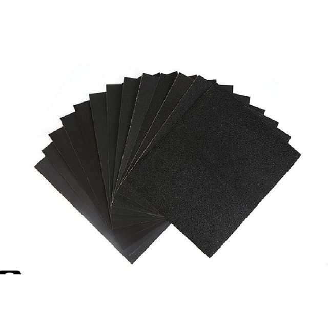 230x270mm Grit 20pcs Coarse Rough Sand Abrasive Paper Amber Beeswax Jade Polishing Silicon Carbide Water Proof Wood Sandpaper