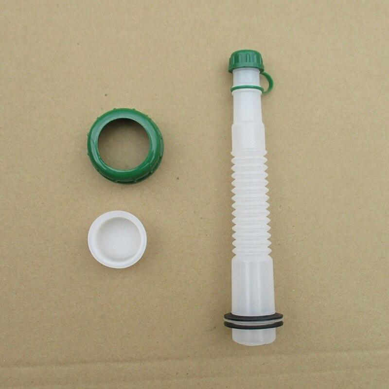 Vent Cap Spout Stopper Kit Lawn Mower Parts Flexible Fuel Spout With Cap
