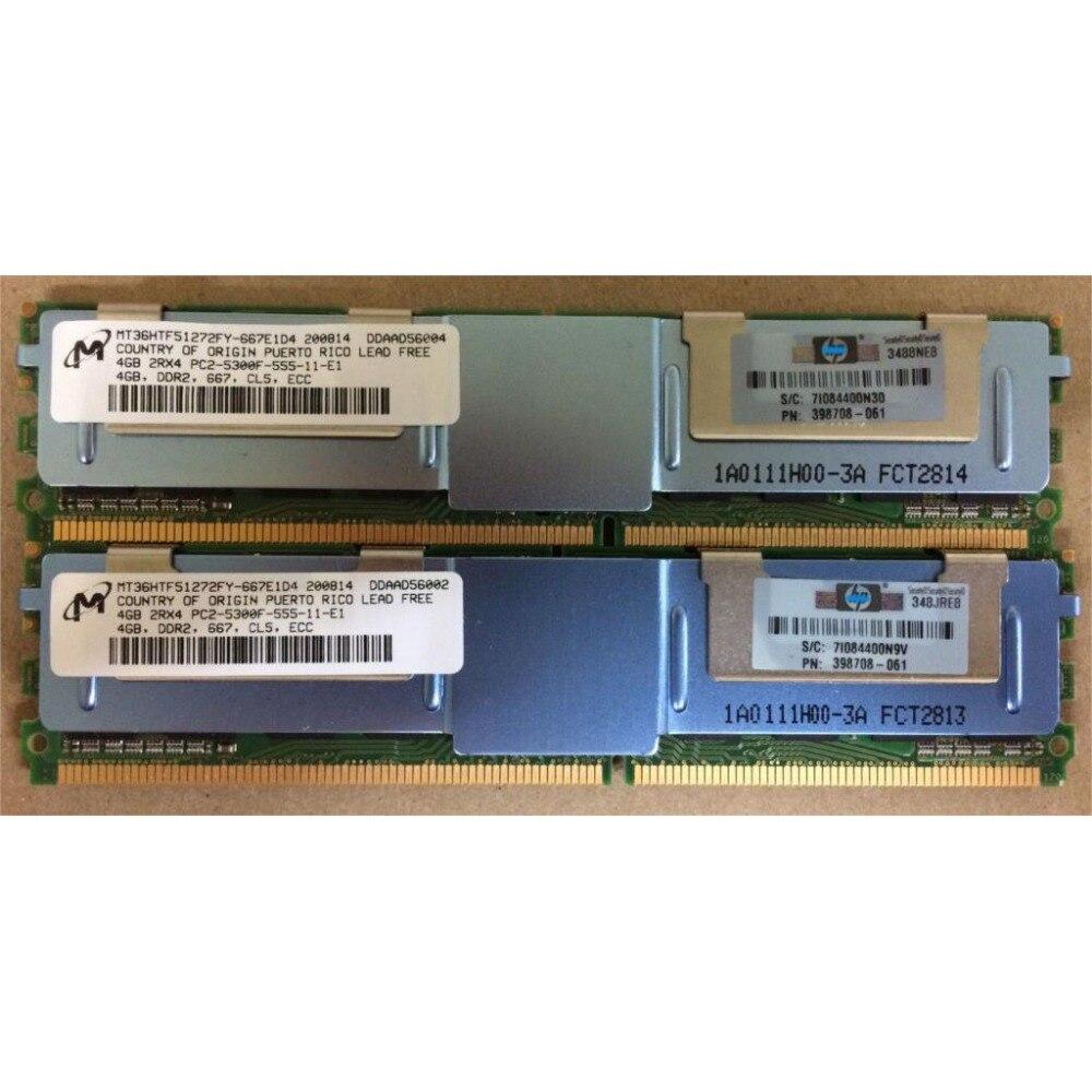 Serverimälu Hynix HP DDR2 4GB 8GB DDR 2 667MHz PC2-5300 2Rx4 4Rx4 - Arvuti komponendid - Foto 2