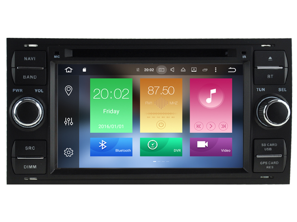 Octa 8 Core Android 6 0 font b CAR b font DVD player FOR FORD Focus