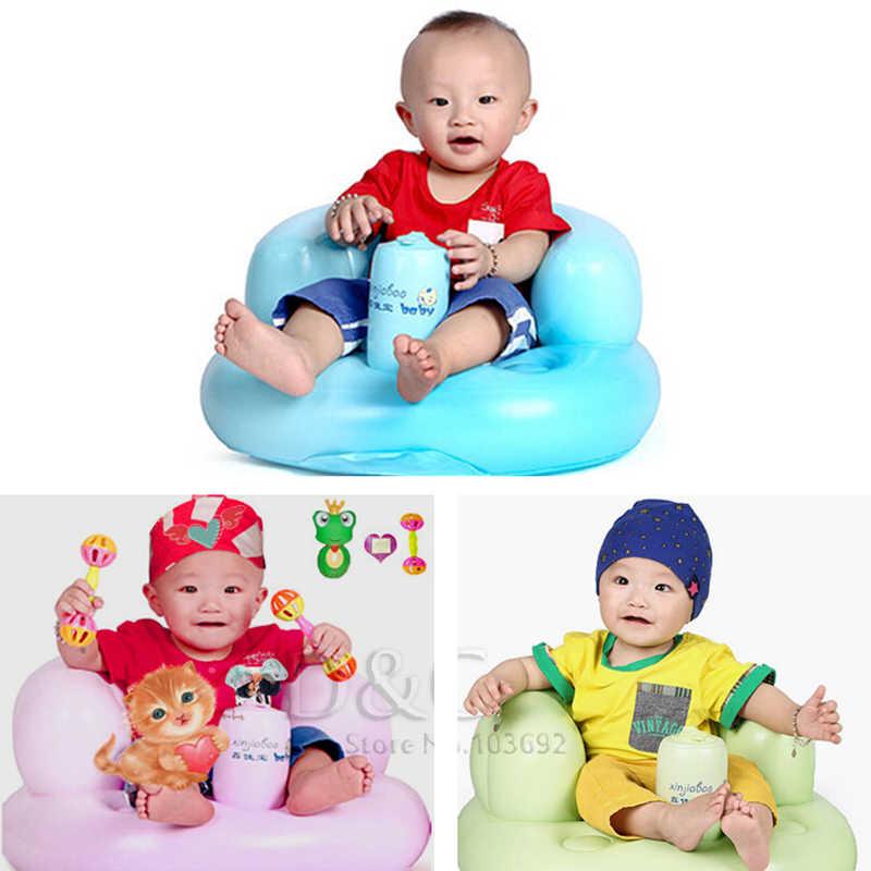 Bath bath เก้าอี้เด็กโซฟาเป่าลมรถเข็นเด็กเก้าอี้เด็กที่นั่งเด็กแบบพกพาเก้าอี้เล่นเกมโซฟาเด็กเรียนรู้สตูล