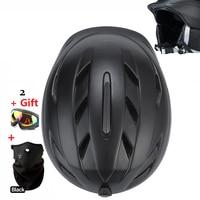 For Adult Kids Ski Helmet MOON Skiing Helmet Skateboard Ski Snowboard Helmet Integrally Molded Ultralight Breathable