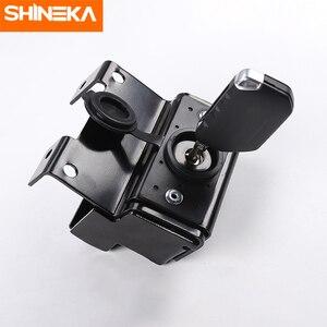 Image 2 - SHINEKA Kit de captura capucha de bloqueo inteligente, parrillas de carreras, conjunto de seguridad antirrobo, conjunto de bloqueo 2018 para Jeep Wrangler jl, accesorios
