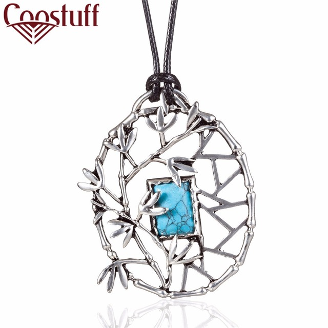 2017 necklace women necklaces pendants handmade jewelry vintage 2017 necklace women necklaces pendants handmade jewelry vintage tree blue stone pendant colar chokers collier aloadofball Choice Image