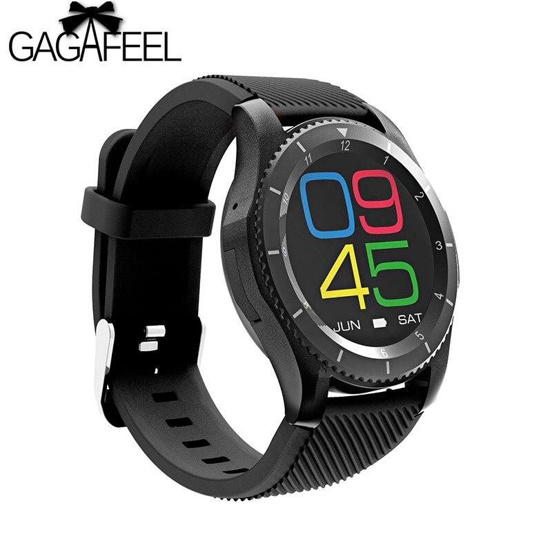 Gagafeel G8 Intelligente orologi Bluetooth 4.0 fitness tracker SIM Card Frequenza Cardiaca di pressione Sanguigna astuto orologio Per Android IOSGagafeel G8 Intelligente orologi Bluetooth 4.0 fitness tracker SIM Card Frequenza Cardiaca di pressione Sanguigna astuto orologio Per Android IOS