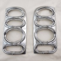 For Toyota Hiace 1998 1999 2000 2001 ABS Chrome accessories plated Rear Light Lamp Cover Trim Tail Light Cover