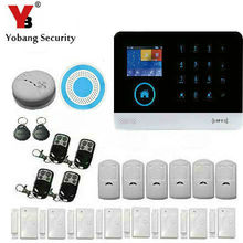 YobangSecurity Home House Office Security Burglar Intruder WIFI 3G WCDMA/CDMA Auto Dialer Alarm System APP Indoor Flash Siren