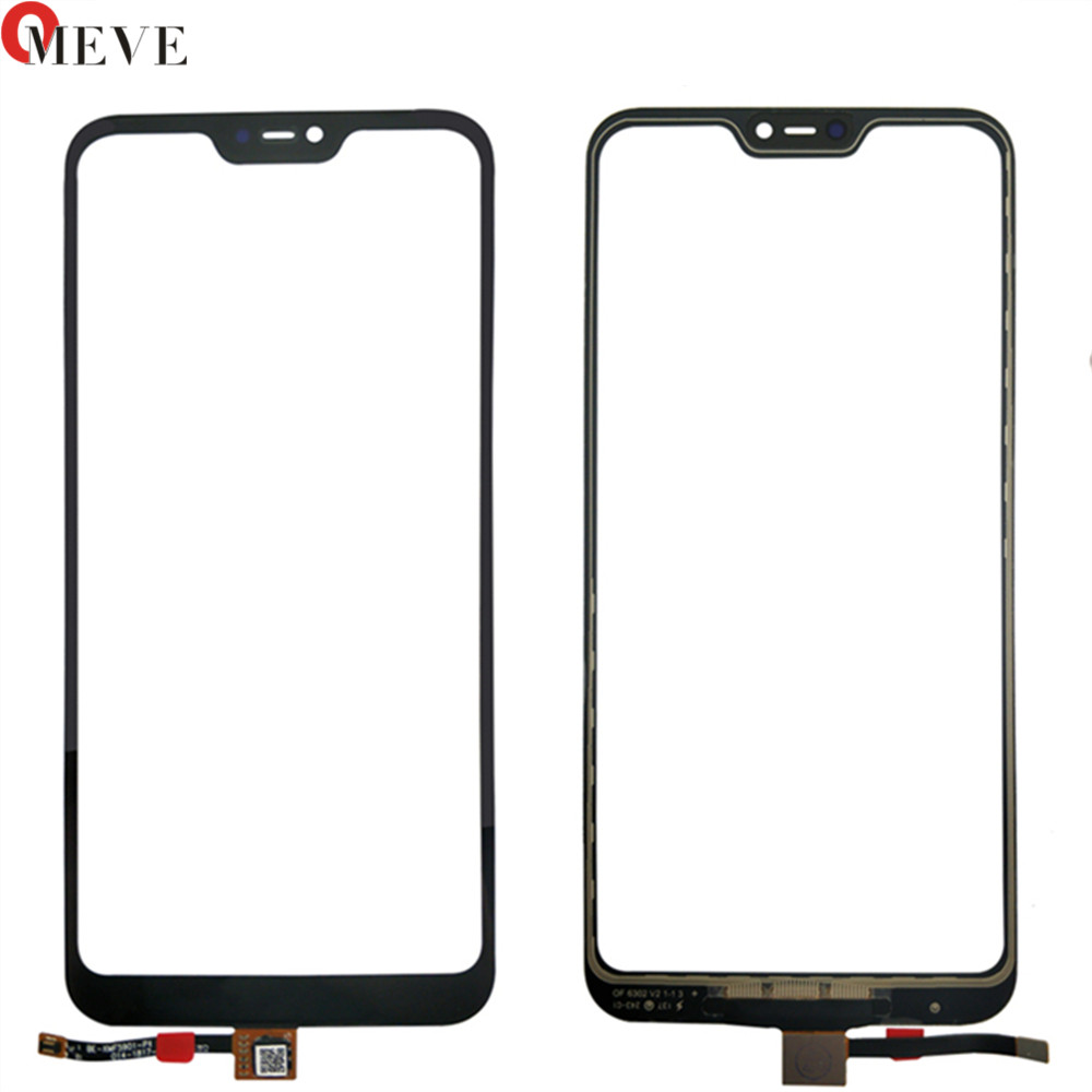 For Xiaomi Redmi 6 Pro / Mi A2 Lite Touch Panel Glass Digitizer Touch Screen Flex Cable Outer Glass Replace Parts