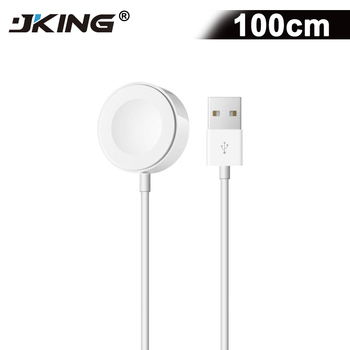 6457edbfaaa JKING Original 1 M rápido magnético inalámbrico Cable de carga para el reloj  de Apple adaptador