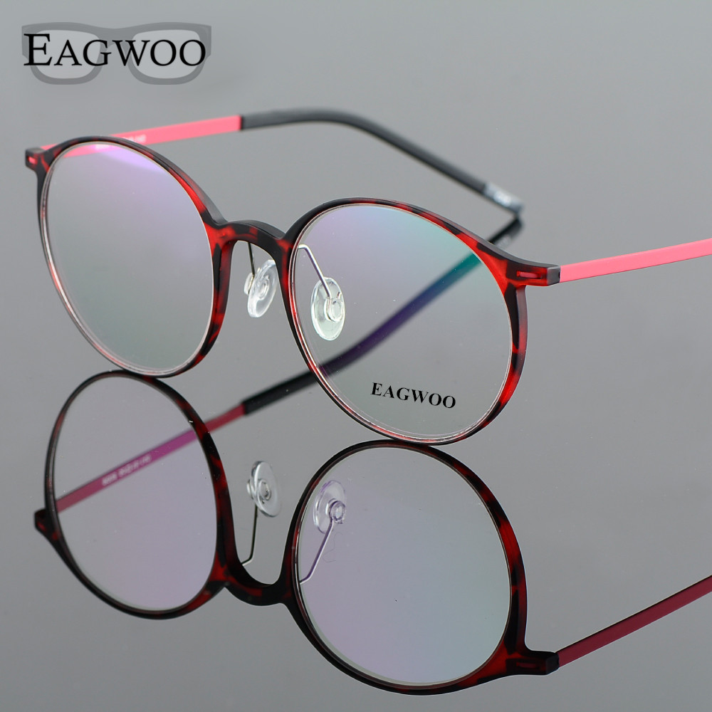 EAGWOO EMS Pure Titanium naočale Big Retro Harry Potter Optički - Pribor za odjeću - Foto 3