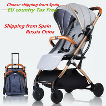 Baby Stroller Trolley Car trolley Folding Baby Carriage 2 in