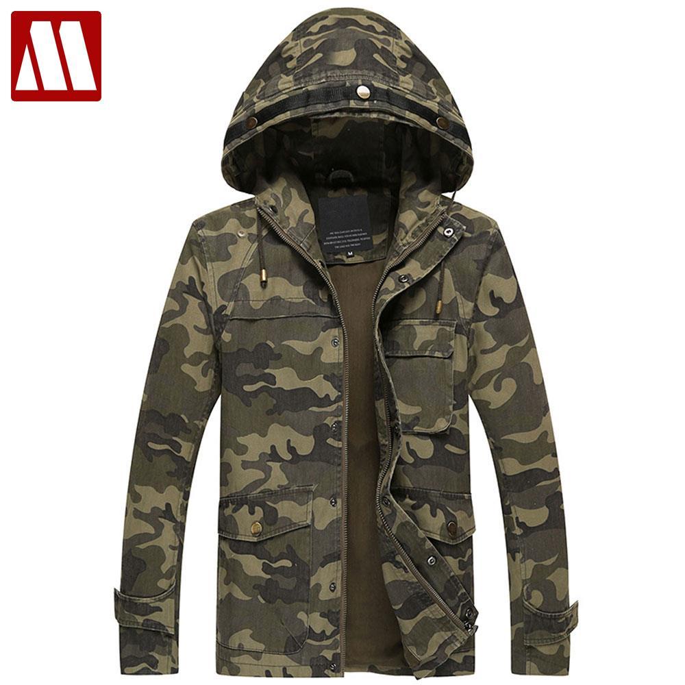 Men s Autumn Winter Parka Coat Brand Tace Shark Jacket Men Fur Liner Embroidery Outdoors Military