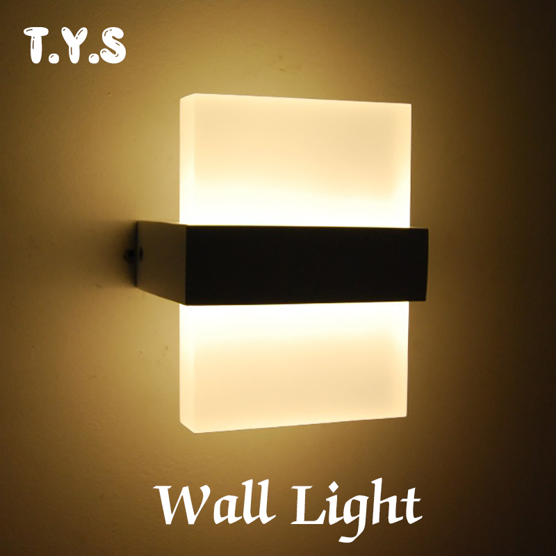 Wall Lamp modern luminaria led wall light lamparas de pared bathroom light sconce applique murale arandela de parada walllamp modern acrylic led wall lights bedroom bedside wall lamp lampara de pared bed room decoration lighting wall sconces