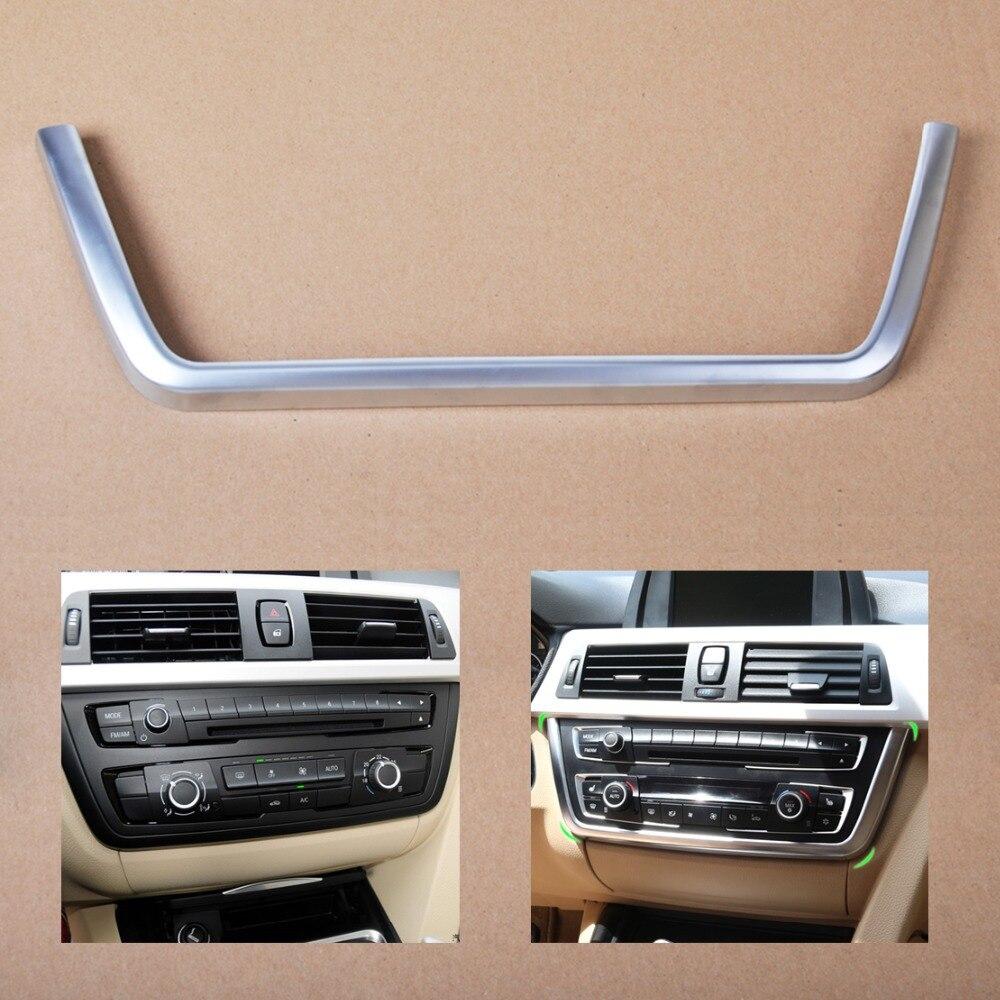 Citall хром приборной панели спереди центральной консоли Накладка для BMW 3 4 серии F30 F31 F32 F34 F36 316 318 320 420 2013