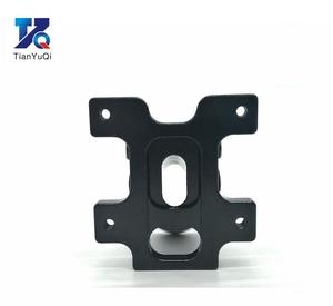 Image 4 - TianYuQi Multi axis uav parts aluminum alloy carbon tube connection  foot mount fixing parts  16mm 20mm 22mm 25mm black