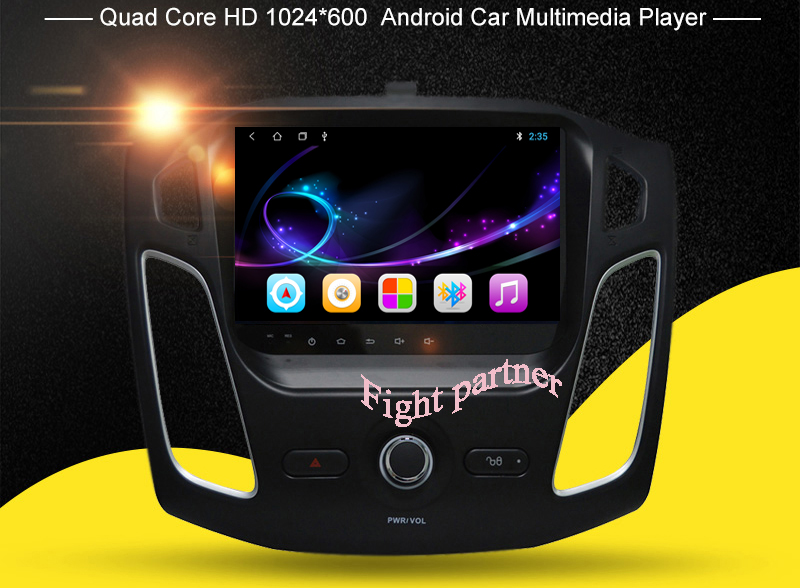 Android 8.1 gps for Ford Focus 3 2012 2013 2014 2015 Car Radio Tape Recorder Stereo WIFI RDS Car dvd multimedia Player