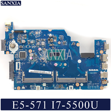 KEFU LA-B161P Laptop motherboard for Acer E5-571 E5-571P original mainboard I7-5500U
