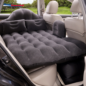 90*140cm Universal Car Travel Bed Mattress Air Inflatable Rear Seat Cover Camping Sofa Pillow Outdoor Cushion with pump