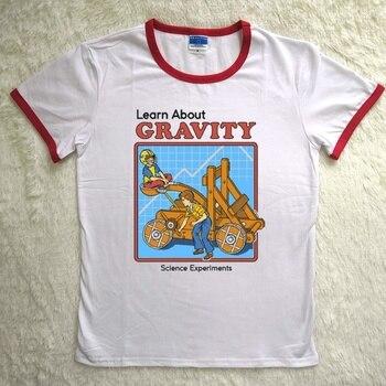 0c04269e934e Camiseta a la moda para mujer, letra para el medio ambiente del agua del  infierno de Satán