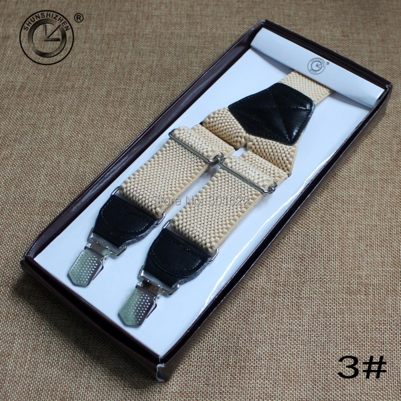 western-style Men's clips trousers 3