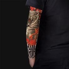 6 ШТ. Нейлон Эластичный Татуировки Рукав для Мужчин Женщин Подогреватель Унисекс УФ-Защита От