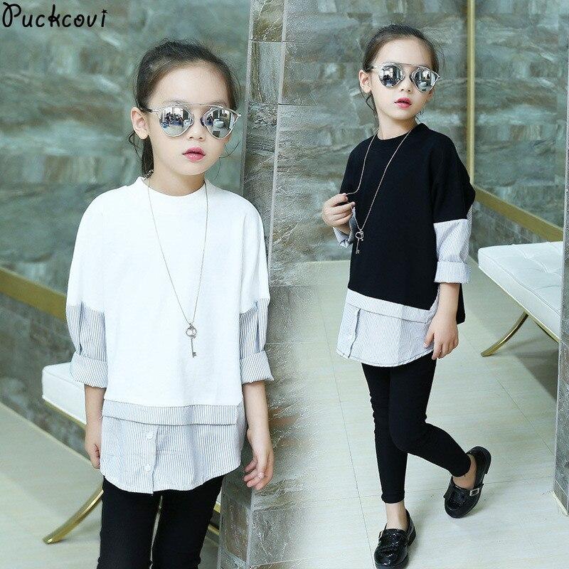 Kids t-shirt Roupas infantis menina Kids clothes Girls tshirt Robe fille enfant Long sleeve t shirt for girl Fashionable shirt