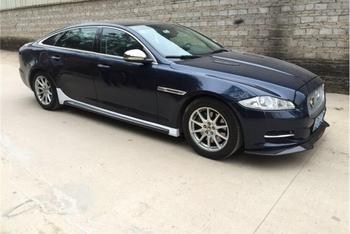 คาร์บอนไฟเบอร์กันชนหน้ากันชนด้านข้างกระโปรงเหมาะกับสำหรับ Jaguar XJ XJL 2010 2011 2012 2013 2014 2015