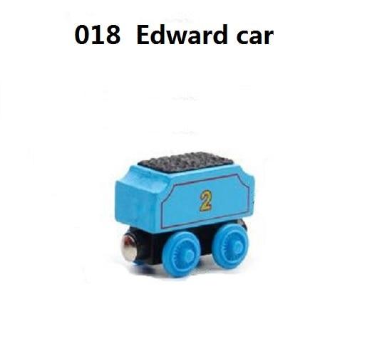 Деревянные магнитные паровозики, игрушки для железной дороги, деревянные паровозики для детей, подарок для детей, модель поезда - Цвет: Коричневый