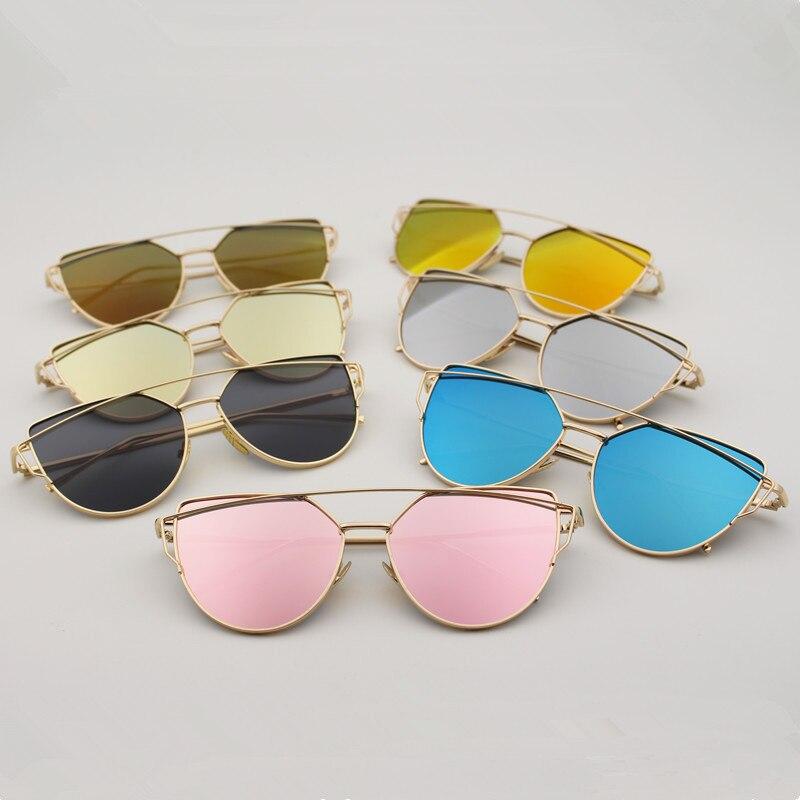 9ff43b26ceaa9 N38 ímã de moda de Nova Mulheres 8 Cores Cat Eye Sunglasses Mulheres óculos  de Sol de Luxo Double-Deck Liga Quadro UV400