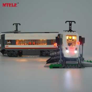 MTELE Brand New Arrival Led Light Kit For Trains High-speed Passenger Model Lighting Set Compatible With Model 60051