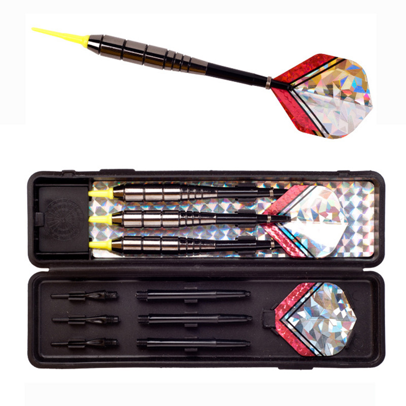 3 PCS/LOT High Quality 20 Grams Imitation Tungsten Soft Tip Darts Iron Darts Professional Darts SET Safety Indoor Game Best Gift ...