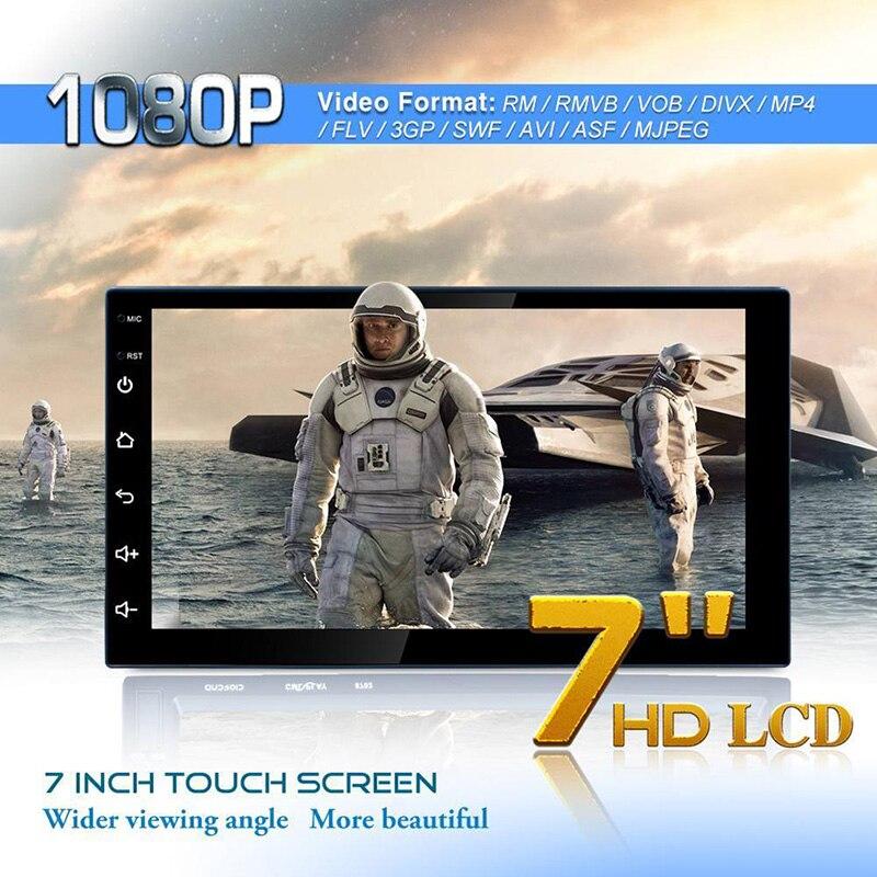 ESHOWEE 7 pouces HD Bluetooth lecteur MP3 Mp5 lecteur multimédia 16G mémoire universelle GPS Navigation WIFI lecteur Navigation Machine