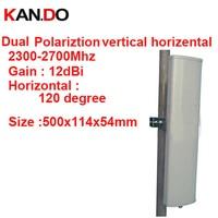 12dbi вертикальный горизонтальная поляризация 120 град 2.3 2.7 г Панель Антенна 2.4 г Wi Fi антенны базовой станции FDD 4 г антенны TDD антенны