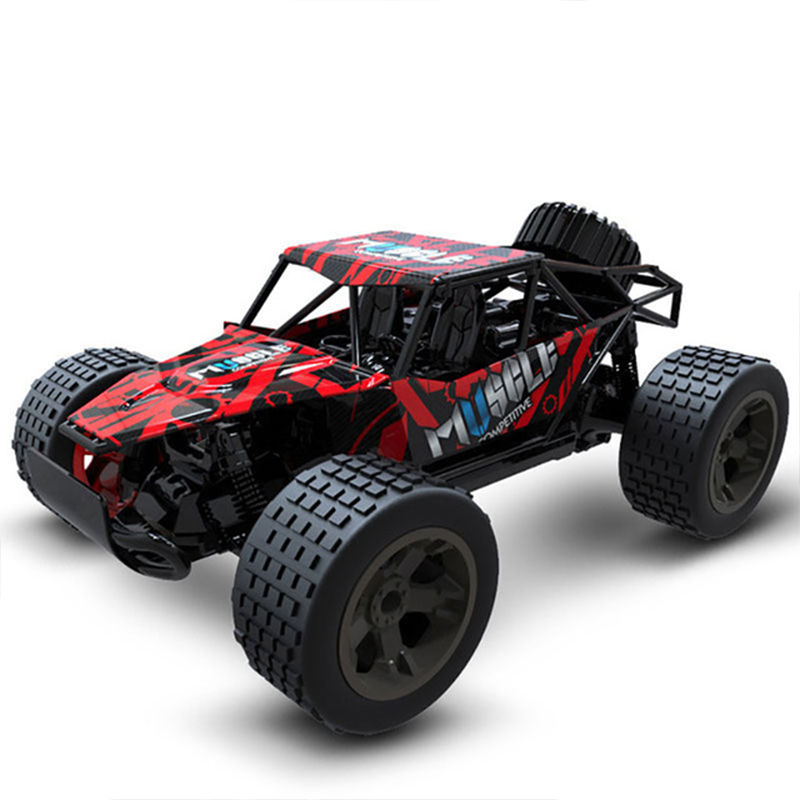 RC Car 2.4G 4CH Rock Crawlers Driving Car Drive Bigfoot Car Remote Control Car Model OffRoad Vehicle Toy wltoys rc drift image